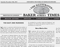 The Illustrated Baker Street Times Mock Cover