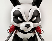 "Custom 8"" Chainsaw Panda Dunny"