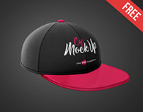 Free Cap Mock-up in PSD