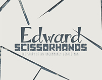 Cartaz Cinematográfico - Edward Scissorhands.