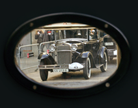 Vintage car Rally, Barcelona