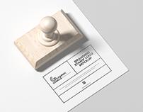 Free Stamp Logo Mockup