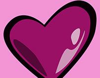 love u valentine design