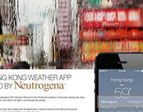 Digital - Neutrogena - Weather APP updated.