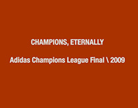 Adidas Champions League Final 2009