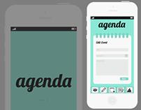 Agenda (Iphone App Concept)