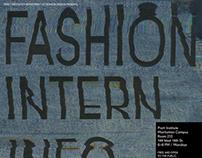 Fashion Intern Info Poster