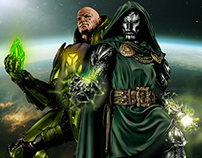 Supervillains of Marvel and DC