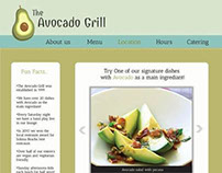 The Avocado Grill - Website