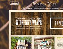 """""""Wiosenny Wiatr"""" site redesign"""