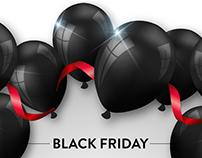 Black Friday Sale . EDM . Newsletter