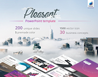 Pleasant Powerpoint Template