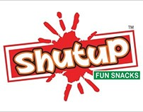 ShutUp Fun Snack Design