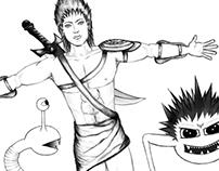 Character design: Mouraco, Murziky, Doodz