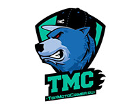TopMotoCrimea logo & merch