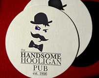 The Handsome Hooligan branding