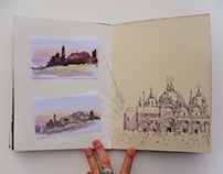 Terzo, the 3rd Italy Sketchbook
