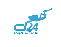 Divers 24 expeditions - logo design