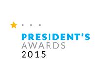 Urban Institute President's Award logo