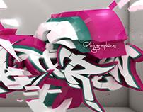 Personal Project: 3D Graffiti