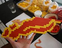 Red Bull Lego signage