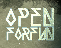 OPEN FOR FUN // Logo & Artwork