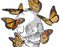 Monarch Skull