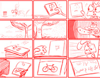 Dr.Skeebo, Storyboards and Characters