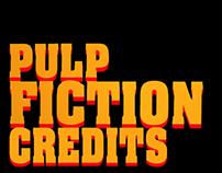 Pulp Fiction Credits