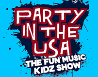 The Fun Music Kids Show Branding & Concert
