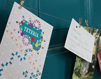 Teteria café identity