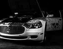 Maserati Quattroporte Art Car