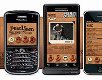 Pearl Jam Mobile Bootleg App