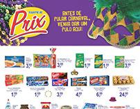 Encartes para o supermercado SuperPrix 2012-2014