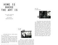INDIE Magazine - 'Home Is Where The Art Is' Feature