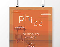 Phizz dj set // poster