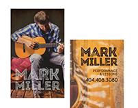 Mark Miller business card design
