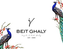 Blue peacock BEIT GHALY