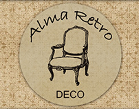 Alma Retro | Diseño de Logotipo y Tarjetas Personales