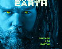 Poster re-creation | Battlefield Earth