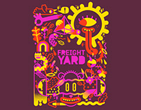 The Freight Yard Tshirt Design