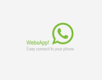 WhatsApp - Web/App Design Concept