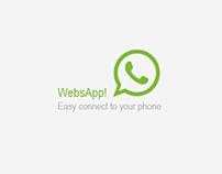 WhatsApp - Web/App Design Concept