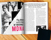 Madanna Magazine Spread