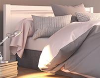 Textile CG - Bedroom