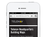 Telenav Headquarters Campus Wayfinding