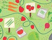 Garden Greens : Pattern Design
