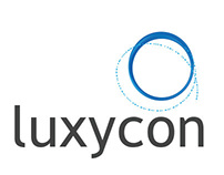 Luxycon logo design and brand style guide