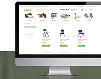 Website Design for Racio TM