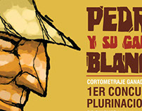Cartel Pedro y su Gallo Blanco